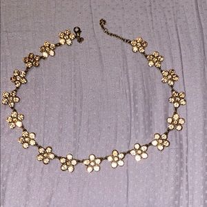 Beautiful floral inspired necklace